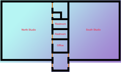 Dance Studio Floorplan